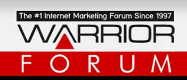 warrior Forum Banned