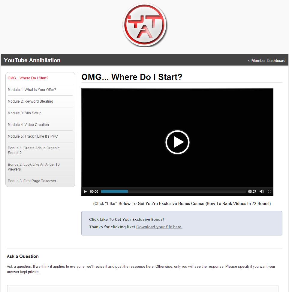 YouTube Annihilation Boris Bergan